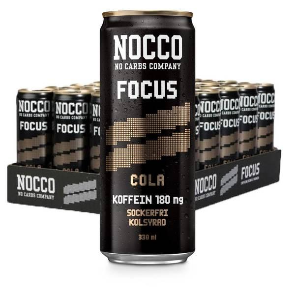 Bilde av Nocco BCAA - Focus Cola 330ml