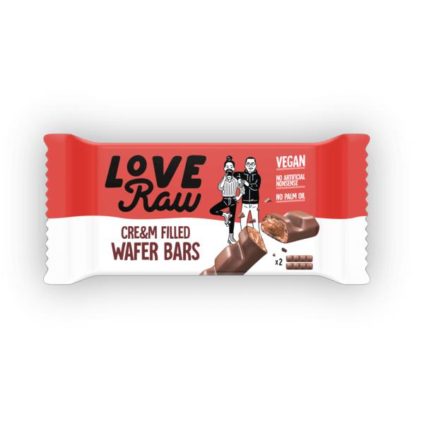 Bilde av LoveRaw - Cream Filled Wafer 43g