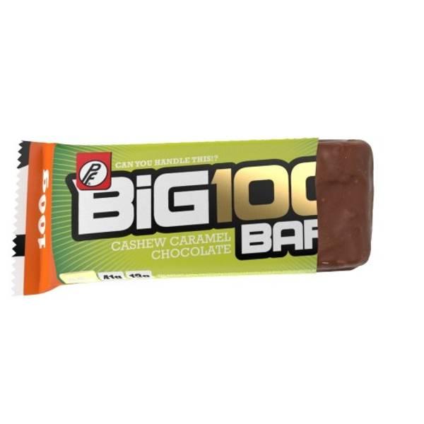Bilde av PF - Big 100 Proteinbar - Cashew Caramel Chocolate (15x100g)