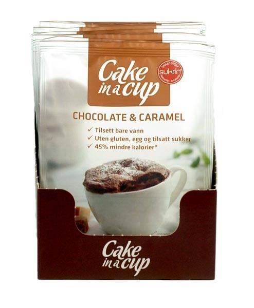 Bilde av Cake In A Cup - Chocolate & Caramel (10x75g)