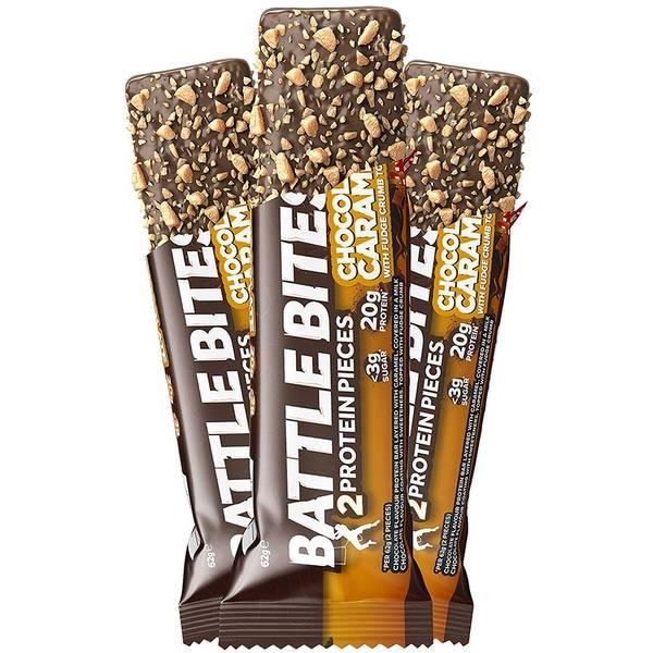 Bilde av Battle Bites - Chocolate Caramel (12x62g)