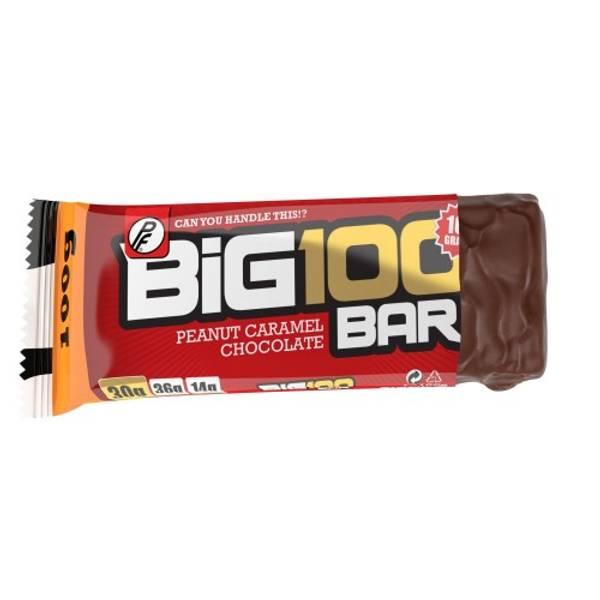 Bilde av PF - Big 100 Proteinbar - Peanut Caramel Chocolate 100g