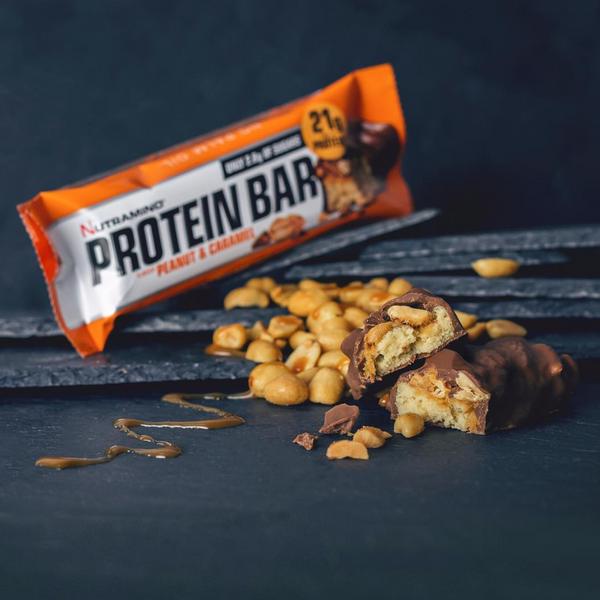 Bilde av Nutramino Proteinbar - Chunky Peanut & Caramel 60g