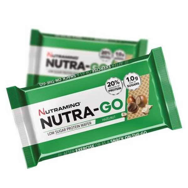 Bilde av Nutramino Nutra-GO Protein Wafer - Hazelnut 39g