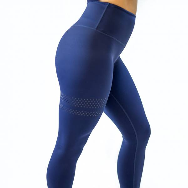 Bilde av BARA Sportswear - Dark Blue Shape Tights