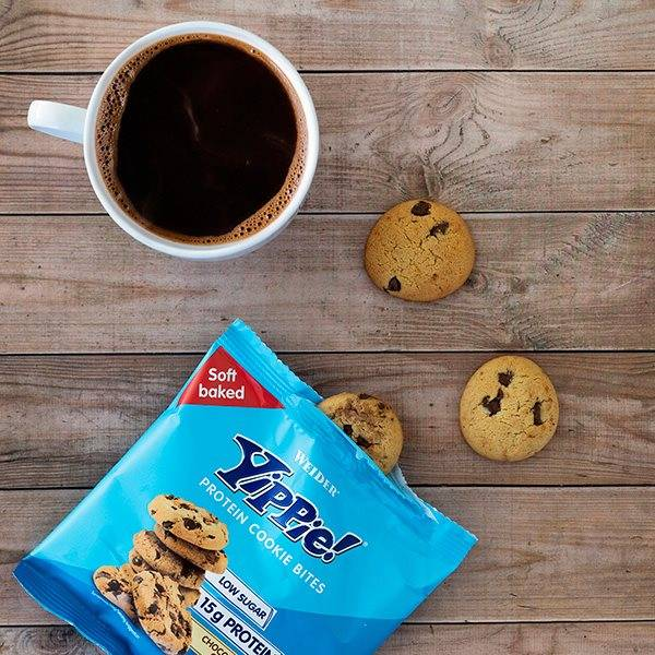 Bilde av Weider - Yippie Protein Cookie Bites - Chocolate Chip 50g