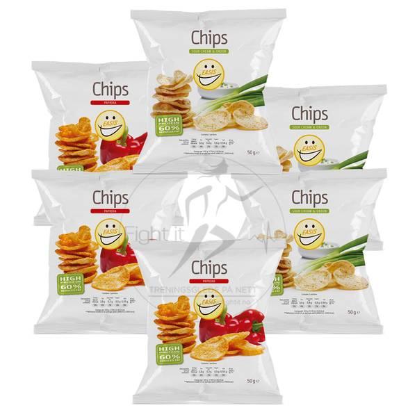 Bilde av EASIS Chips (6x50g)