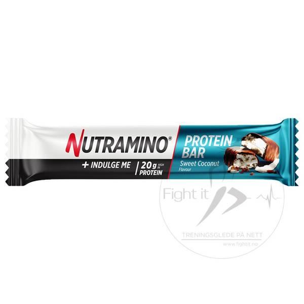 Bilde av Nutramino Proteinbar - Sweet Coconut (16x66g)