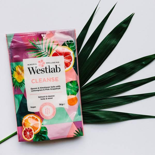 Bilde av Westlab - Cleanse Badesalt 1kg (Datovare)