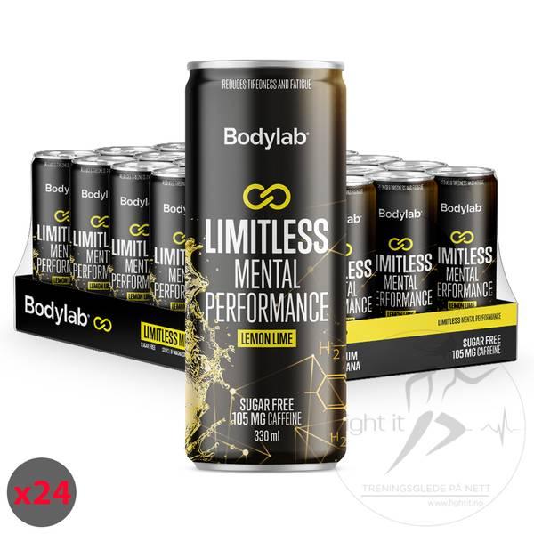 Bilde av Bodylab Limitless Mental Performance - Lemon Lime (24x330ml)
