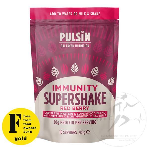 Bilde av Pulsin - Vitality Vanilla Matcha Supershake 300g
