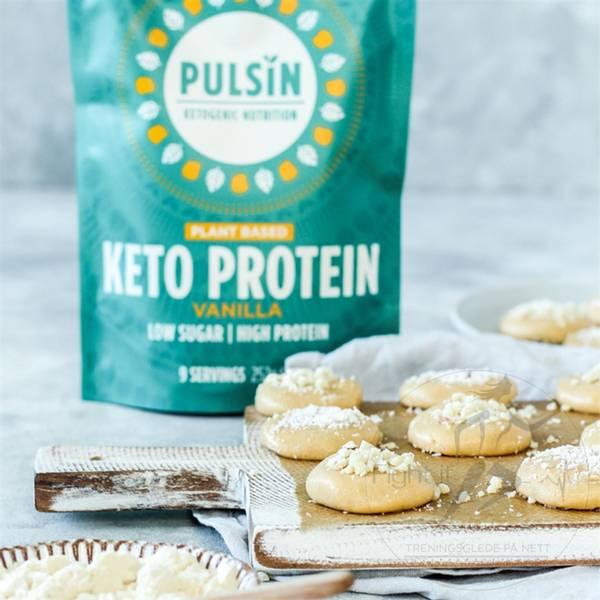 Bilde av Pulsin - Keto Protein Vanilla 252g