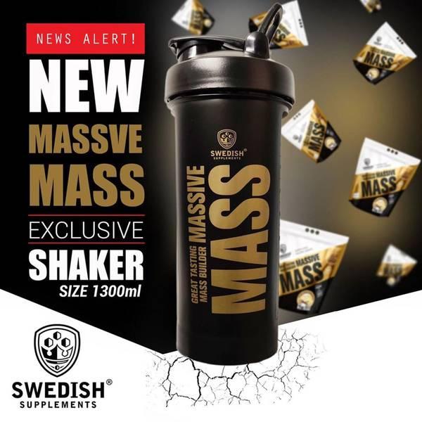 Bilde av Swedish Supplements - Shaker Massive Mass 1300ml