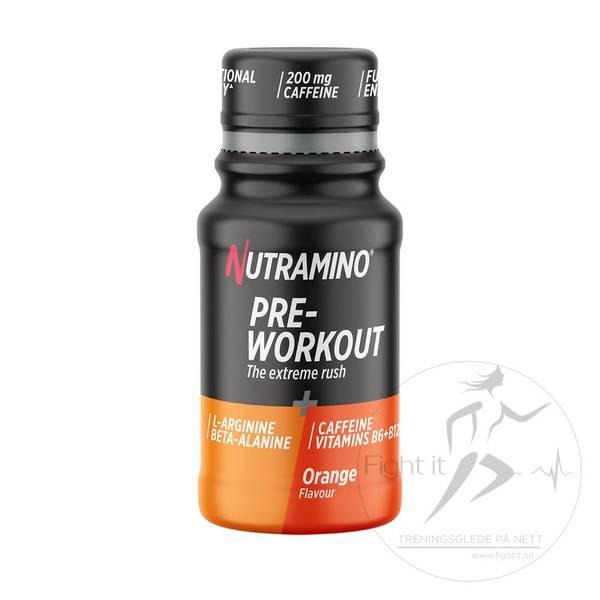 Bilde av Nutramino +Pro PWO SHOT - Orange 200mg