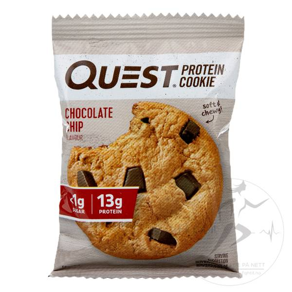 Bilde av Quest Protein Cookies - Chocolate Chip 50g