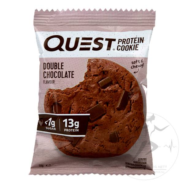 Bilde av Quest Protein Cookies - Chocolate Chip (12x50g)
