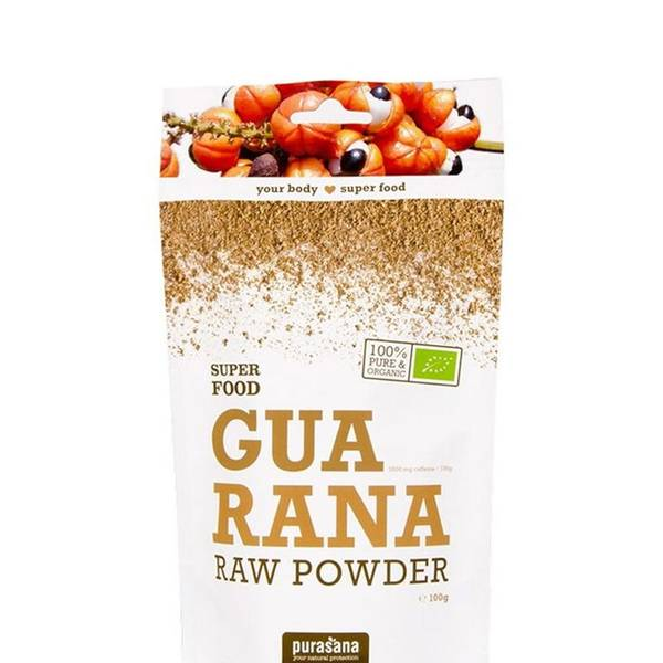 Bilde av Purasana - Guarana Powder Øko 100g