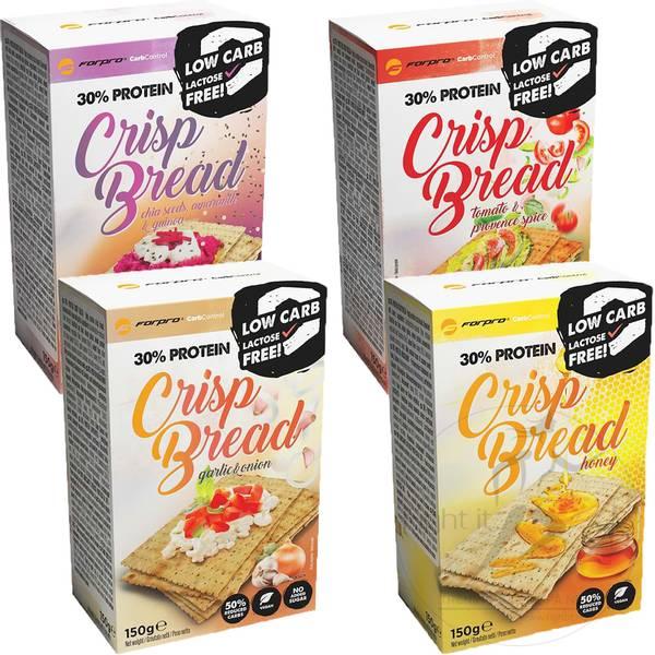 Bilde av ForPro - 30% Protein Crisp Bread (4x150g)