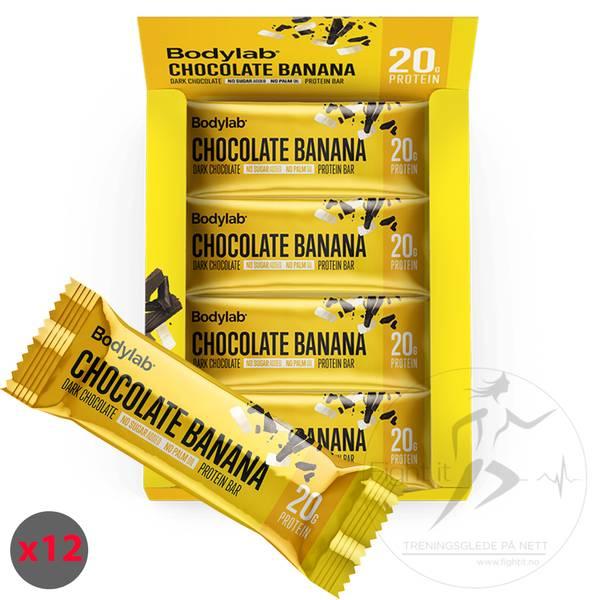 Bilde av Bodylab Protein Bar - Chocolate Banana 55g