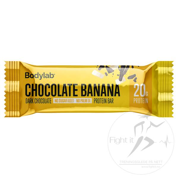 Bilde av Bodylab Protein Bar - Chocolate Banana (12x60g)