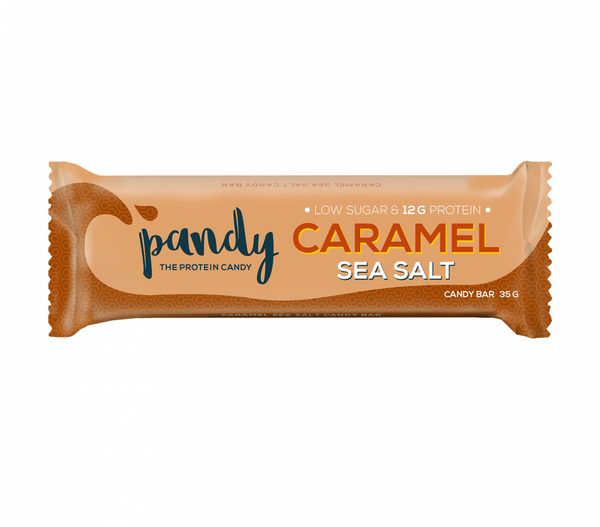 Bilde av Pandy Protein - Candy Bar Caramel Sea Salt (18x35g)