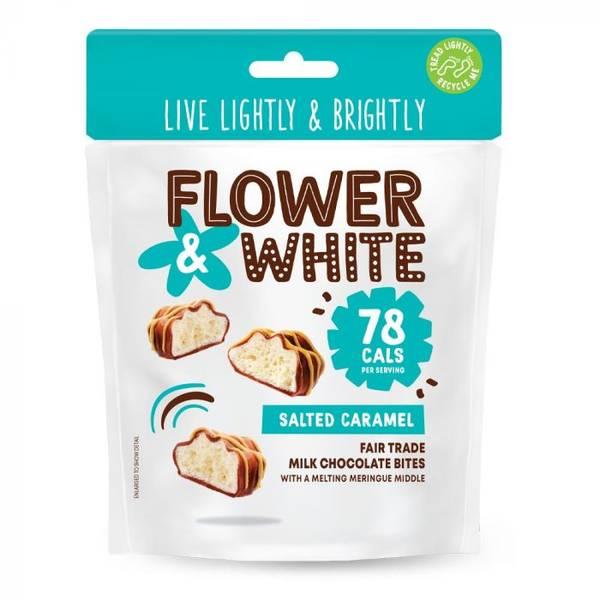 Bilde av Flower & White - Salted Caramel Meringue Bites 75g