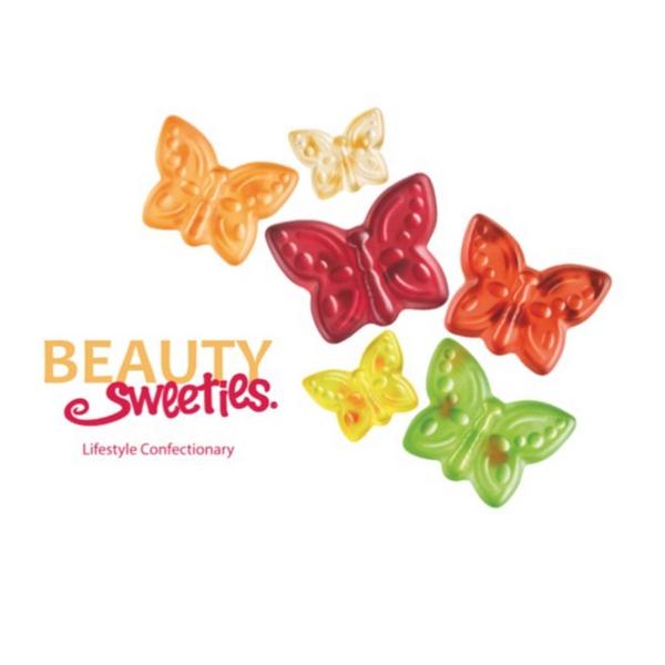 Bilde av Beauty Sweeties - Butterflies 125g