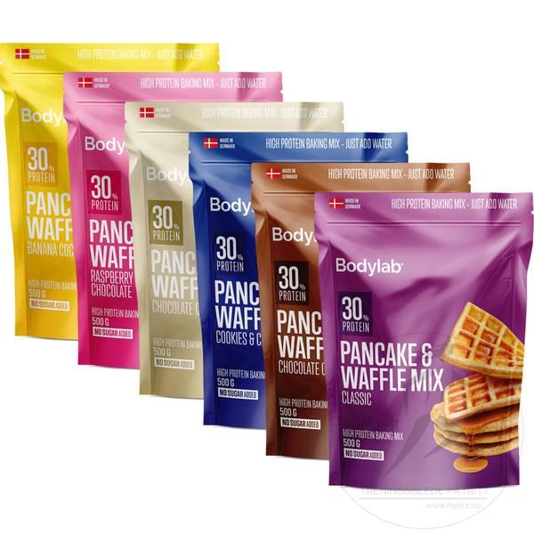 Bilde av Bodylab - Pancake & Waffle Mix (3x500g)