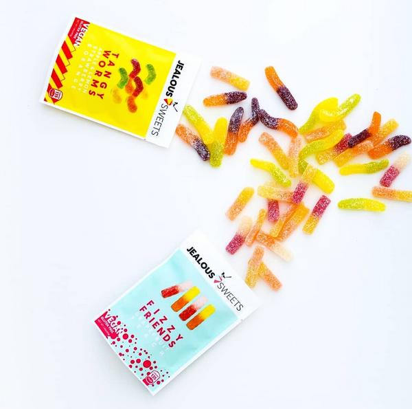 Bilde av Jealous Sweets - Tangy Worms 40g