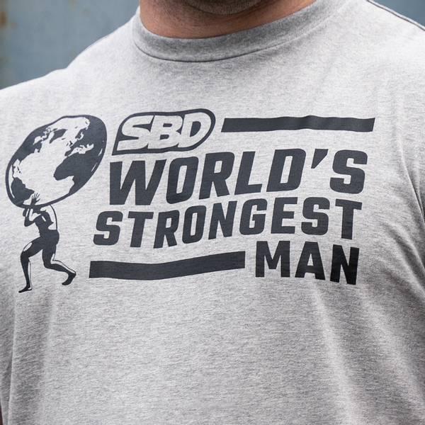 Bilde av SBD T-Shirt World's Strongest Man - Herre