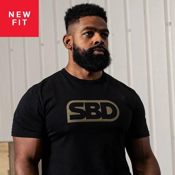Bilde av SBD Endure T-Shirt - Black W/Green - Herre
