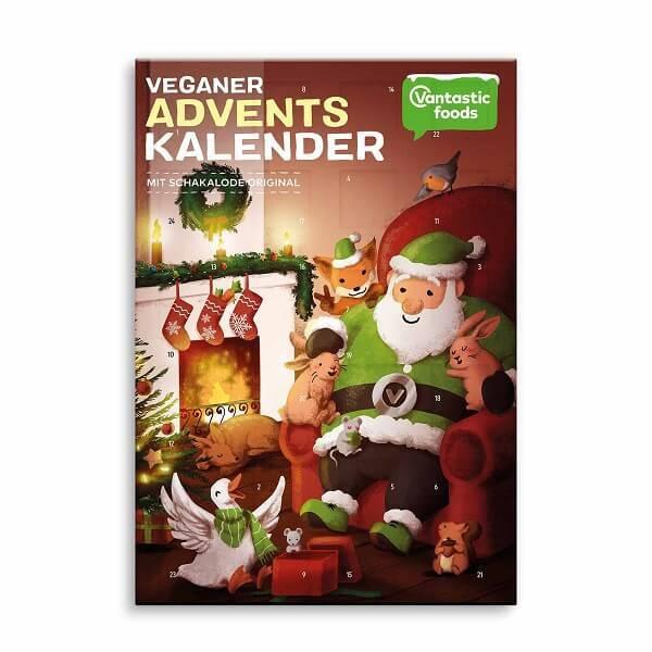 Bilde av Vantastic Foods - Adventskalender White Chocolate 150g