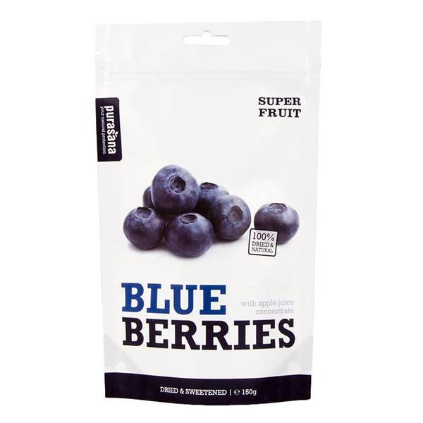 Bilde av Purasana - BlueBerries 150g