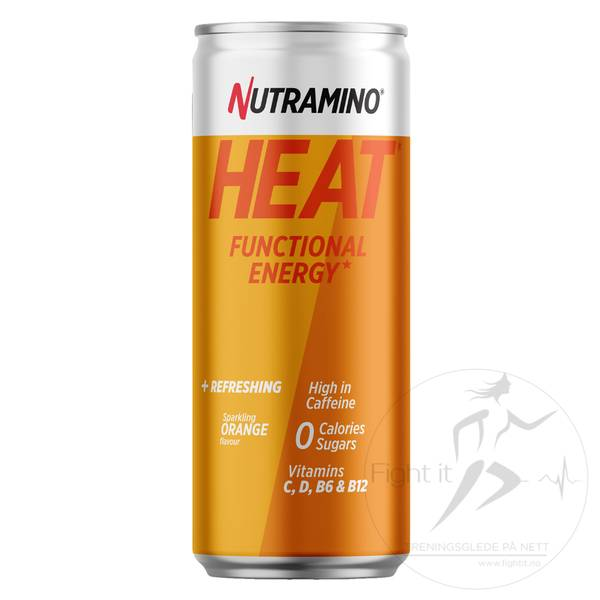 Bilde av Nutramino - HEAT Orange (24x330ml)