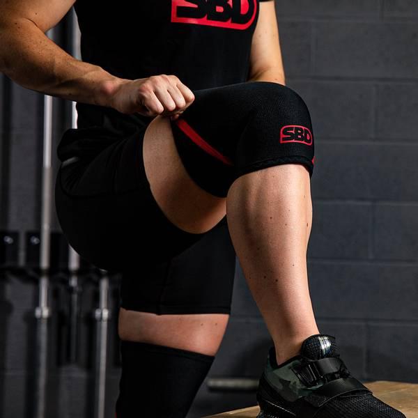 Bilde av SBD - Weightlifting Knee Sleeves