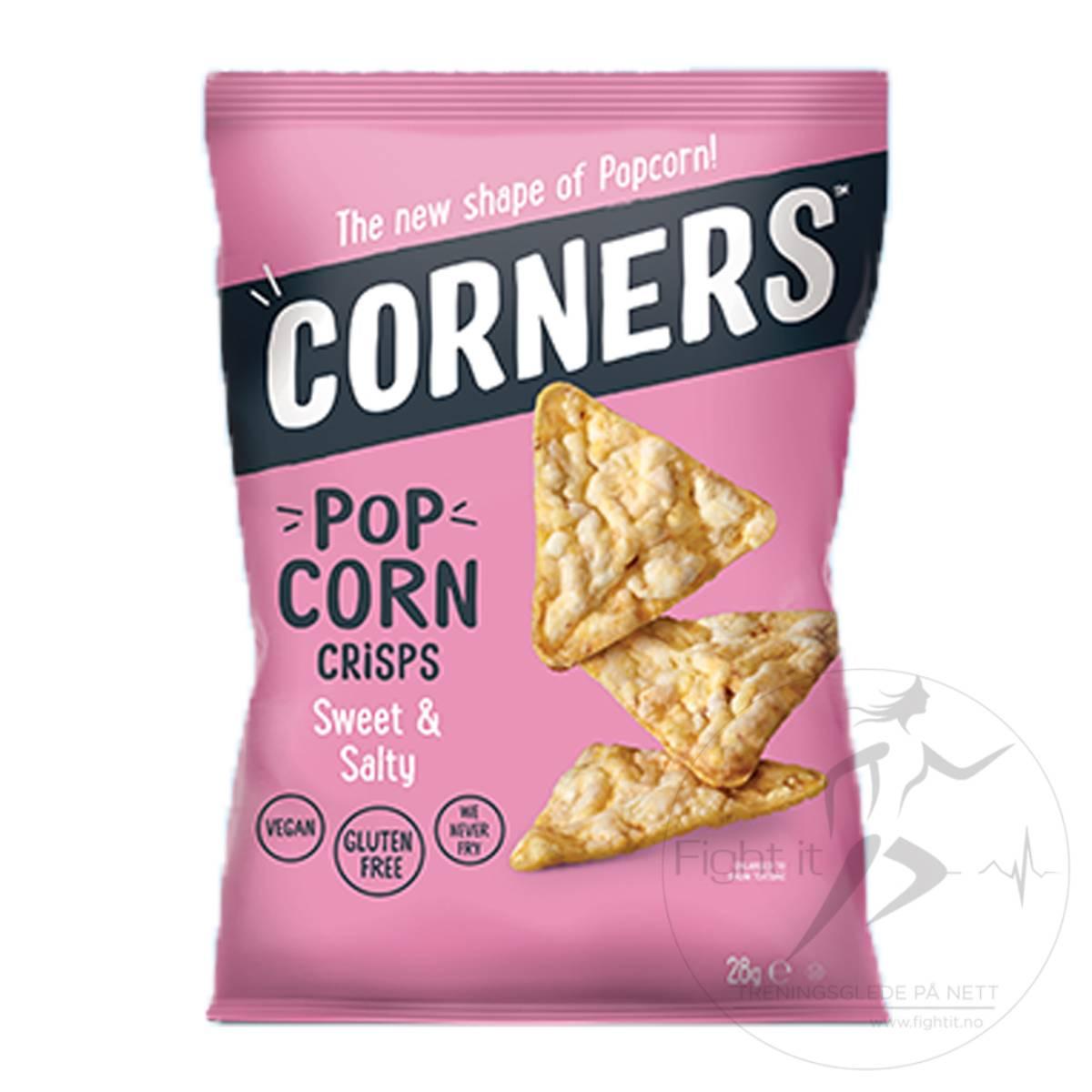 Corners - Pop Protein Crisps - Sweet & Salty 28g