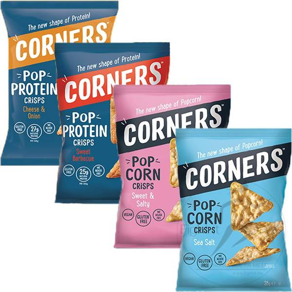 Bilde av Corners - Pop Protein Crisps - Sweet & Salty 28g