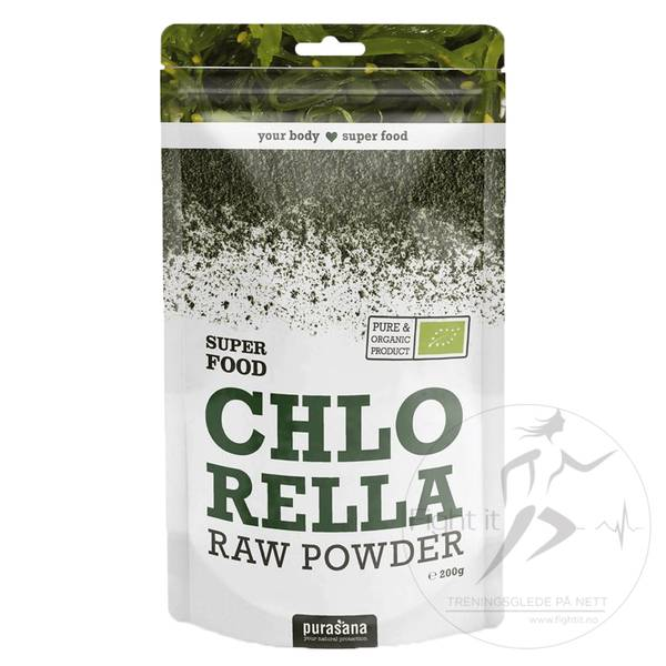 Bilde av Purasana - Chlorella RAW Powder 200g