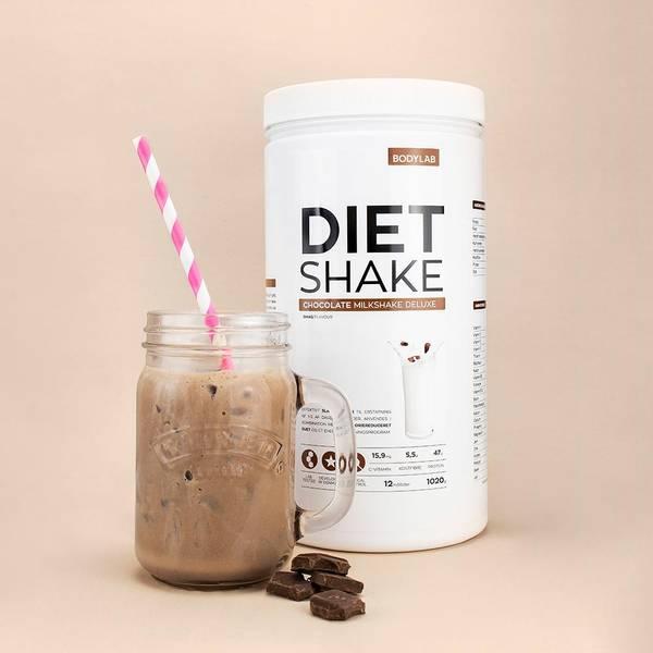 Bilde av Bodylab - Diet Shake - Milkshake (1000g)