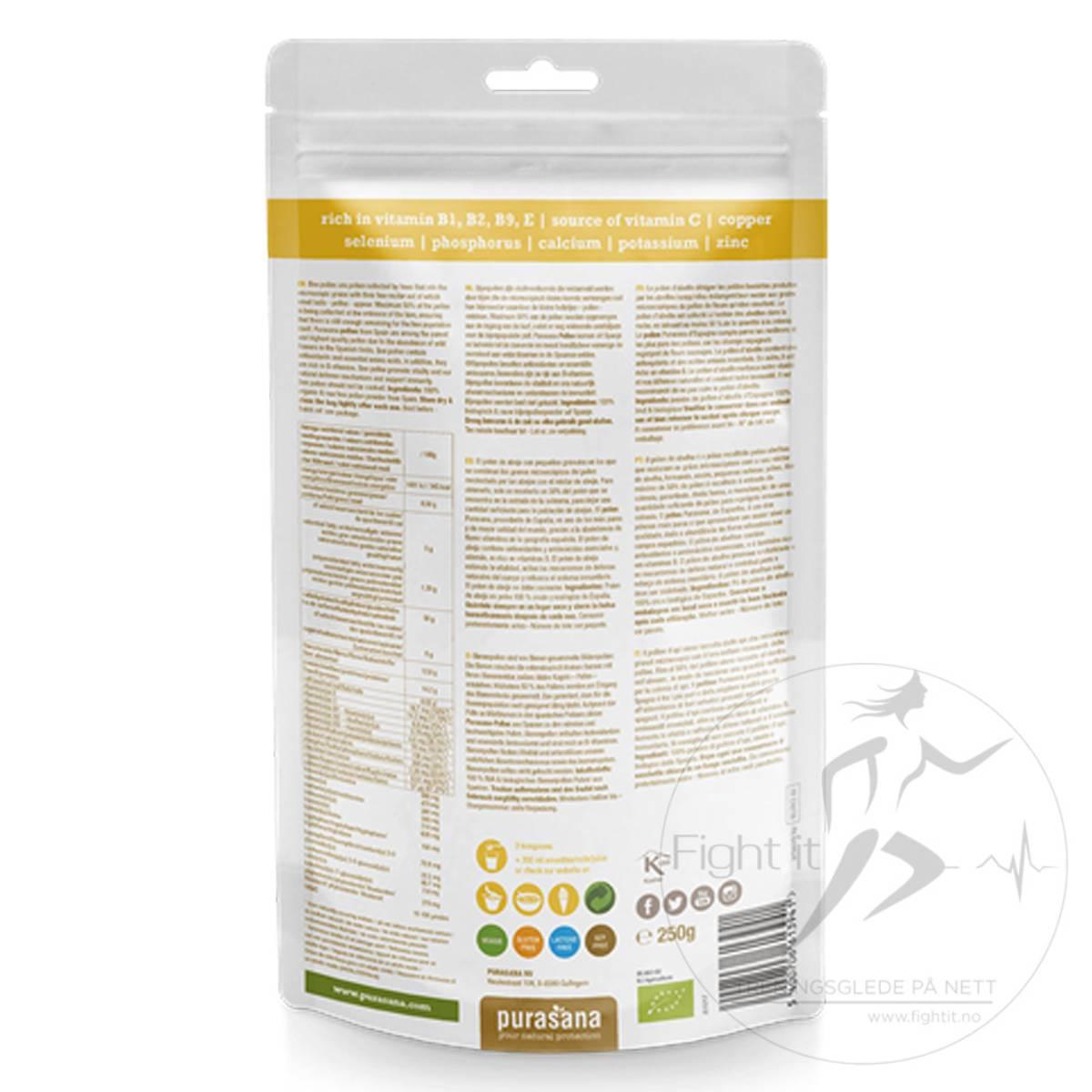 Purasana - Beepollen Raw Powder 250g