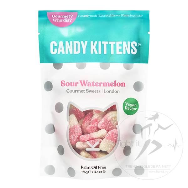 Bilde av Candy Kittens - Sour Watermelon (9x125g)
