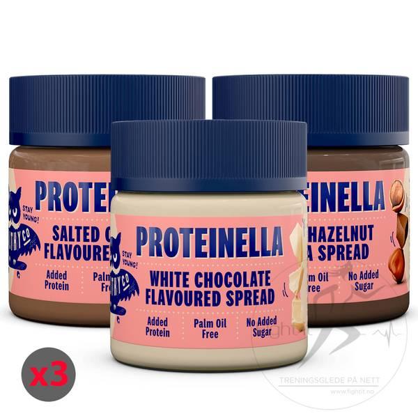Bilde av Healthyco - Proteinella (3x200g)