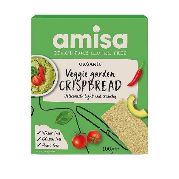 Bilde av Amisa - Veggie Garden Crispbread 100g