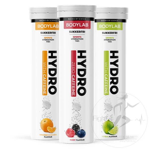 Bilde av Bodylab Hydro Tabs (20stk.) - Orange/Mandarin