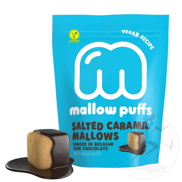 Bilde av Mallow Puffs - Salted Caramel Mallows 100g