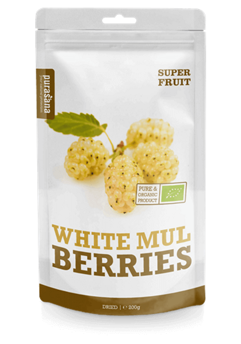 Purasana - White MulBerries Øko. 200g