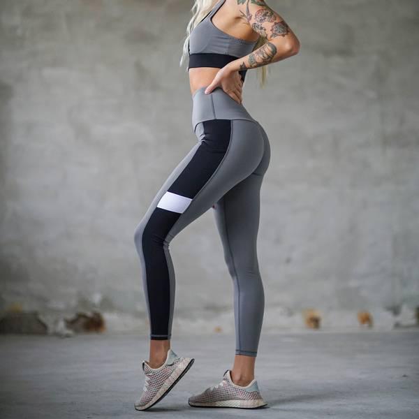 Bilde av BARA Sportswear - Charcoal Core Sportsbra
