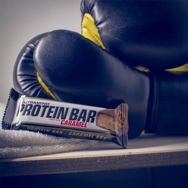 Bilde av Nutramino Proteinbar - Creamy Caramel (12x64g)