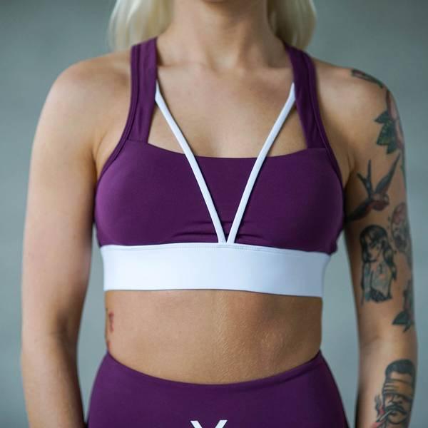 Bilde av BARA Sportswear - Plum Core Sportsbra