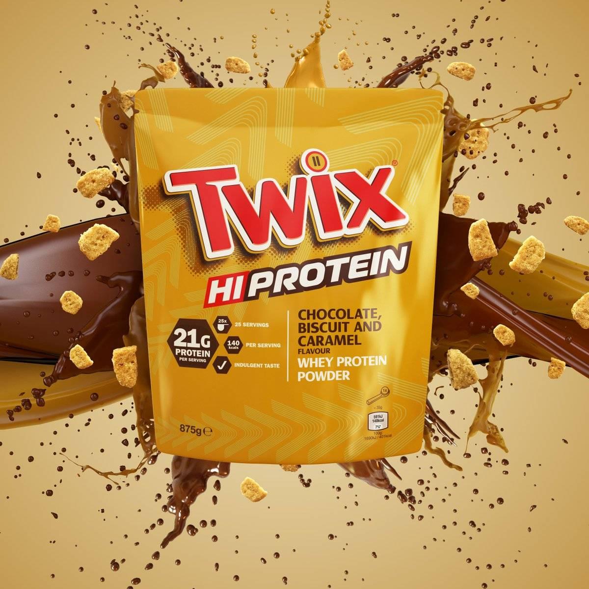 Snickers Proteinpulver 875g